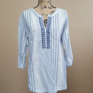 Brand new with tags Blue stripes Blouse
